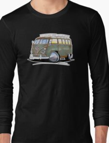 VW Splitty (23 Window) D Long Sleeve T-Shirt
