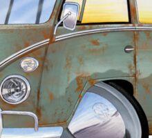 VW Splitty (23 Window) D Sticker