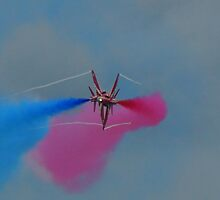Red Arrow pair cross over by craig wilson