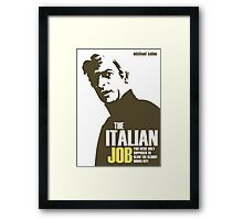 Michael Caine - The Italian Job Framed Print