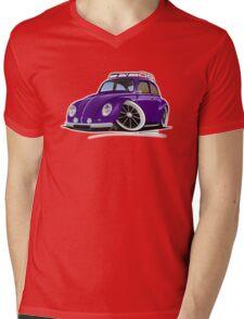 VW Beetle (Custom J) Mens V-Neck T-Shirt