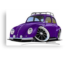 VW Beetle (Custom J) Canvas Print