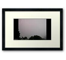 Lightning 2012 Collection 26 Framed Print