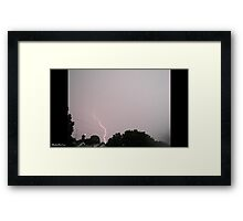 Lightning 2012 Collection 27 Framed Print