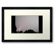 Lightning 2012 Collection 28 Framed Print