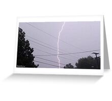 Lightning 2012 Collection 32 Greeting Card