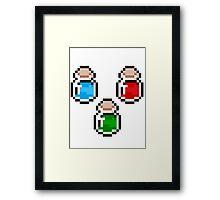 Zelda Potions V.2 Framed Print