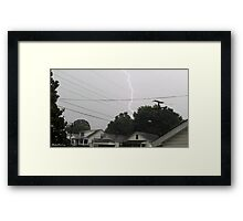 Lightning 2012 Collection 36 Framed Print
