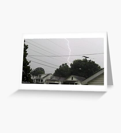 Lightning 2012 Collection 36 Greeting Card