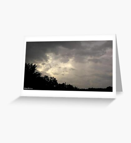 Lightning 2012 Collection 37 Greeting Card