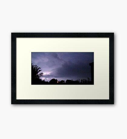 Lightning 2012 Collection 38 Framed Print