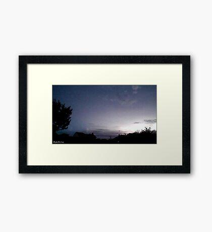 Lightning 2012 Collection 39 Framed Print