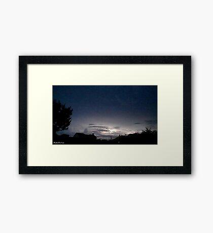 Lightning 2012 Collection 40 Framed Print
