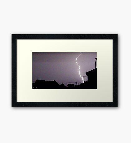 Lightning 2012 Collection 44 Framed Print