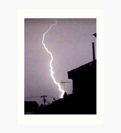 Lightning 2012 Collection 45 Art Print
