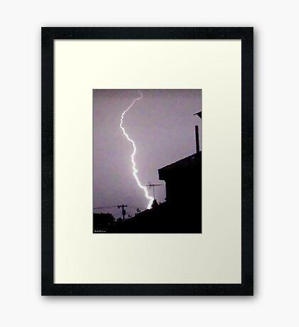 Lightning 2012 Collection 45 Framed Print