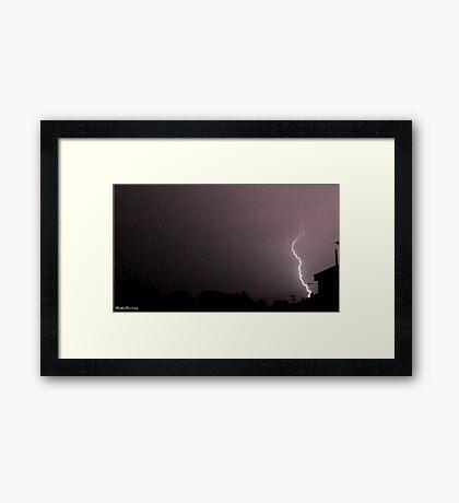 Lightning 2012 Collection 46 Framed Print