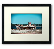 Le Boat. Framed Print