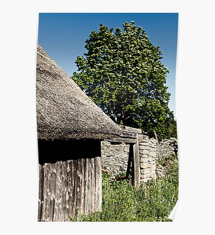 The Barn. The Tree. Poster