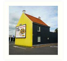BELGIUM HOUSE Art Print