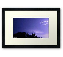 Lightning 2012 Collection 57 Framed Print