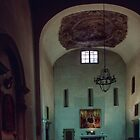 Nave Dantes Church, Florence Italy 198407080024 by Fred Mitchell