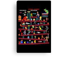 1980s Arcade Heroes Canvas Print
