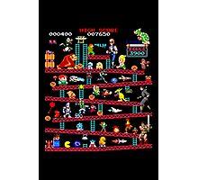 1980s Arcade Heroes Photographic Print