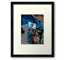 Compact collage Framed Print