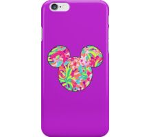 Lilly Pulitzer Inspired Mouse Ears Lulu iPhone Case/Skin