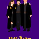 Harry Potter trio by Zoe Toseland