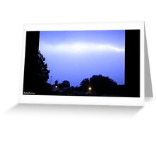Lightning 2012 Collection 90 Greeting Card