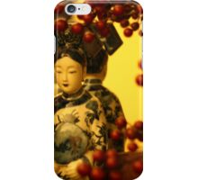 Red berries in Christmas iPhone Case/Skin
