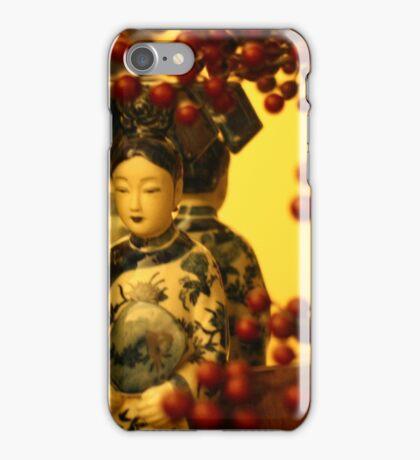 Red berries in Christmas iPhone Case/Skin