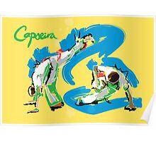 Capoeira Print Poster