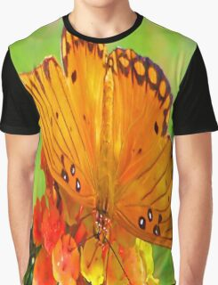 Gulf Fritillary Graphic T-Shirt