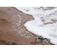Brownsea Island Beach Wash Photographic Print