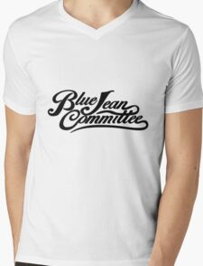 The Blue Jean Committee Mens V-Neck T-Shirt