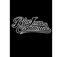 The Blue Jean Committee Photographic Print