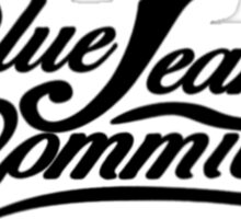 The Blue Jean Committee Sticker
