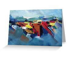Beauty of destructive creations Greeting Card