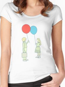 le ballon rouge Women's Fitted Scoop T-Shirt