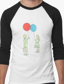 le ballon rouge Men's Baseball ¾ T-Shirt