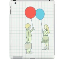 le ballon rouge iPad Case/Skin