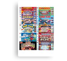 Arcade Board Games Canvas Print