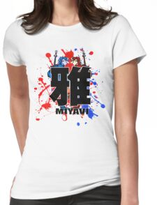 Colours Of Miyavi FACE-OFF Womens Fitted T-Shirt