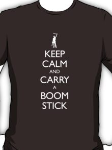 Keep Calm and Carry a Boom Stick T-Shirt