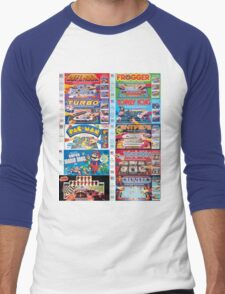 Arcade Board Games Men's Baseball ¾ T-Shirt