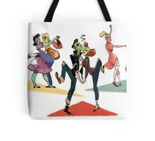 Zombie Dance Party Tote Bag