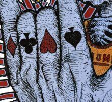 Poker Skeleton Sticker